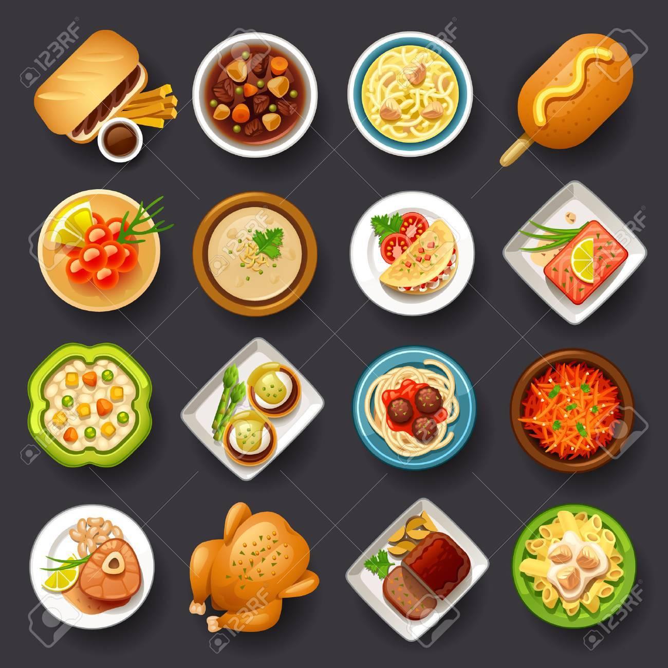 dishes icon set-3 - 36850928