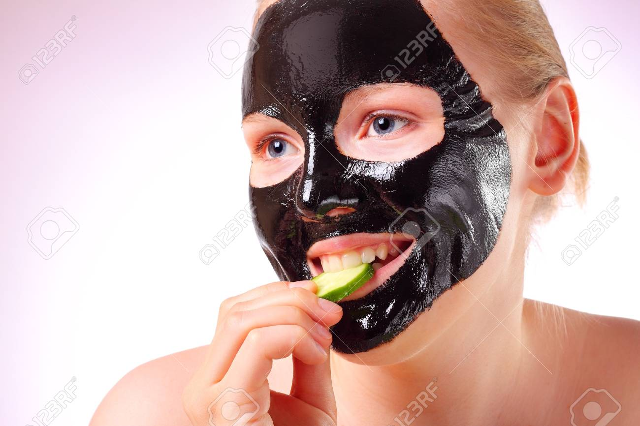 Woman with a face mask Stock Photo - 7451547