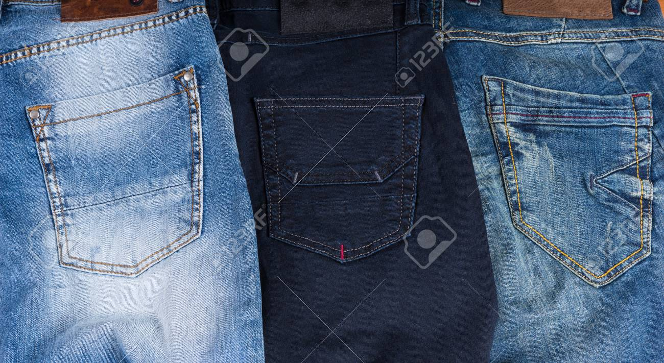 Blue jeans color different Levi's Colored
