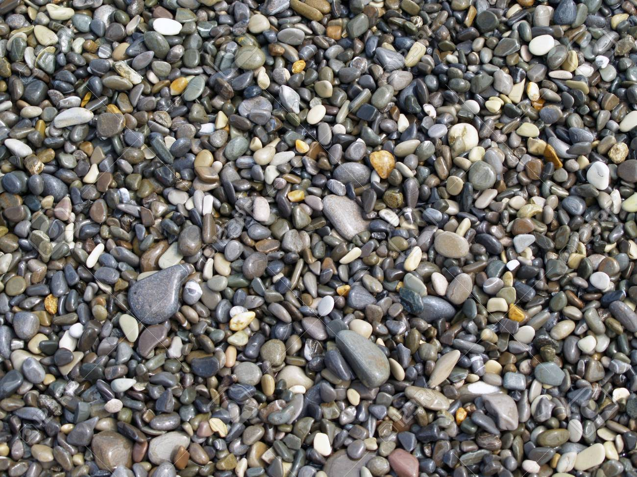wet sea pebble forming gray background, invoice Stock Photo - 8845606