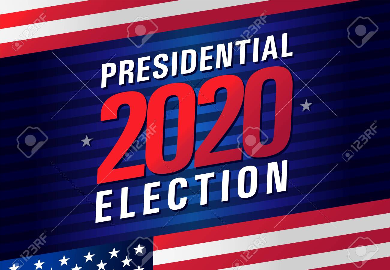 Presidential Election Day USA 2020. Vote In USA, Banner Design.. Royalty  Free Cliparts, Vectors, And Stock Illustration. Image 142112824.