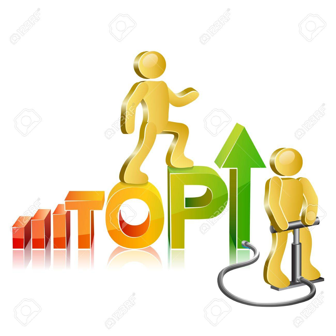 Human walking up on diagram the word top stylized as diagram human walking up on diagram the word top stylized as diagram to the pinnacle of success ccuart Gallery