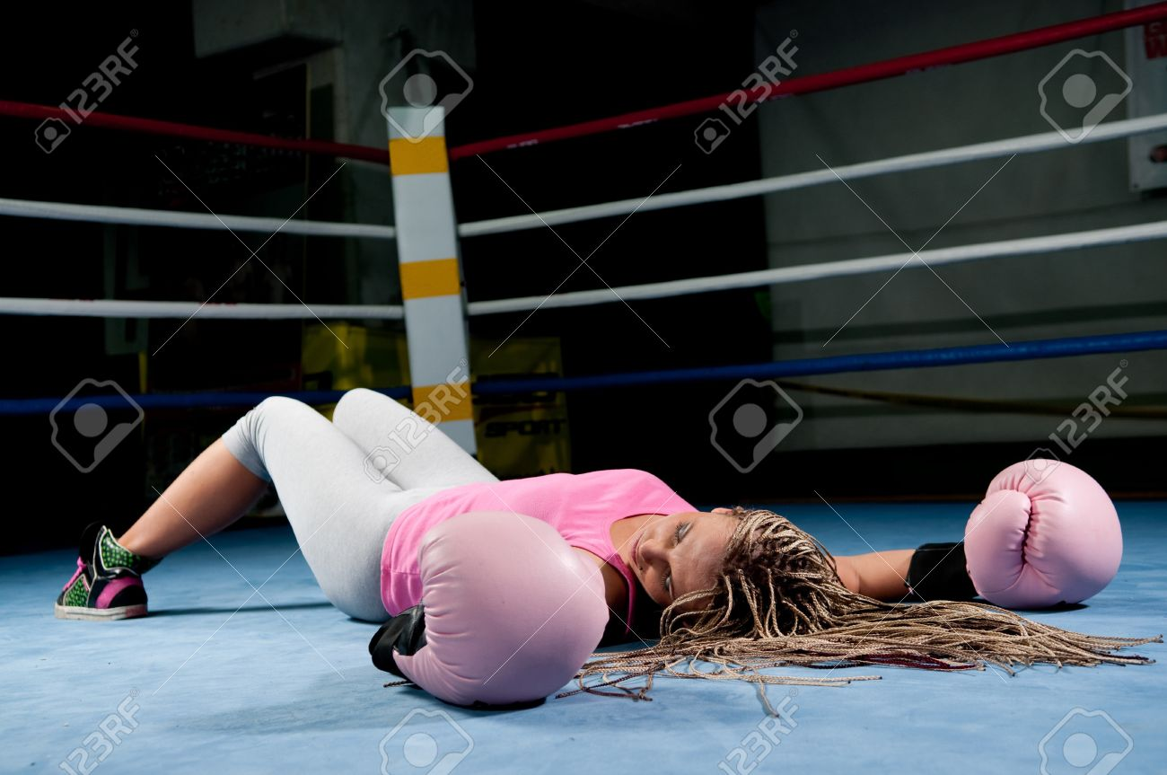 Bikini boxing knocked out knockout