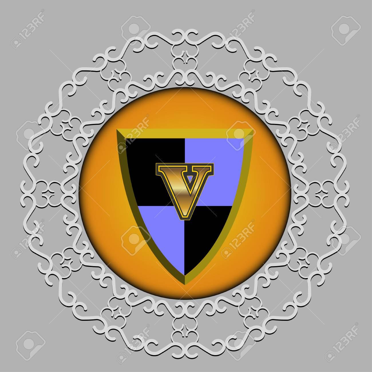Modle De Motifs Monogrammes Gracieux Emblme Lettre H Pour
