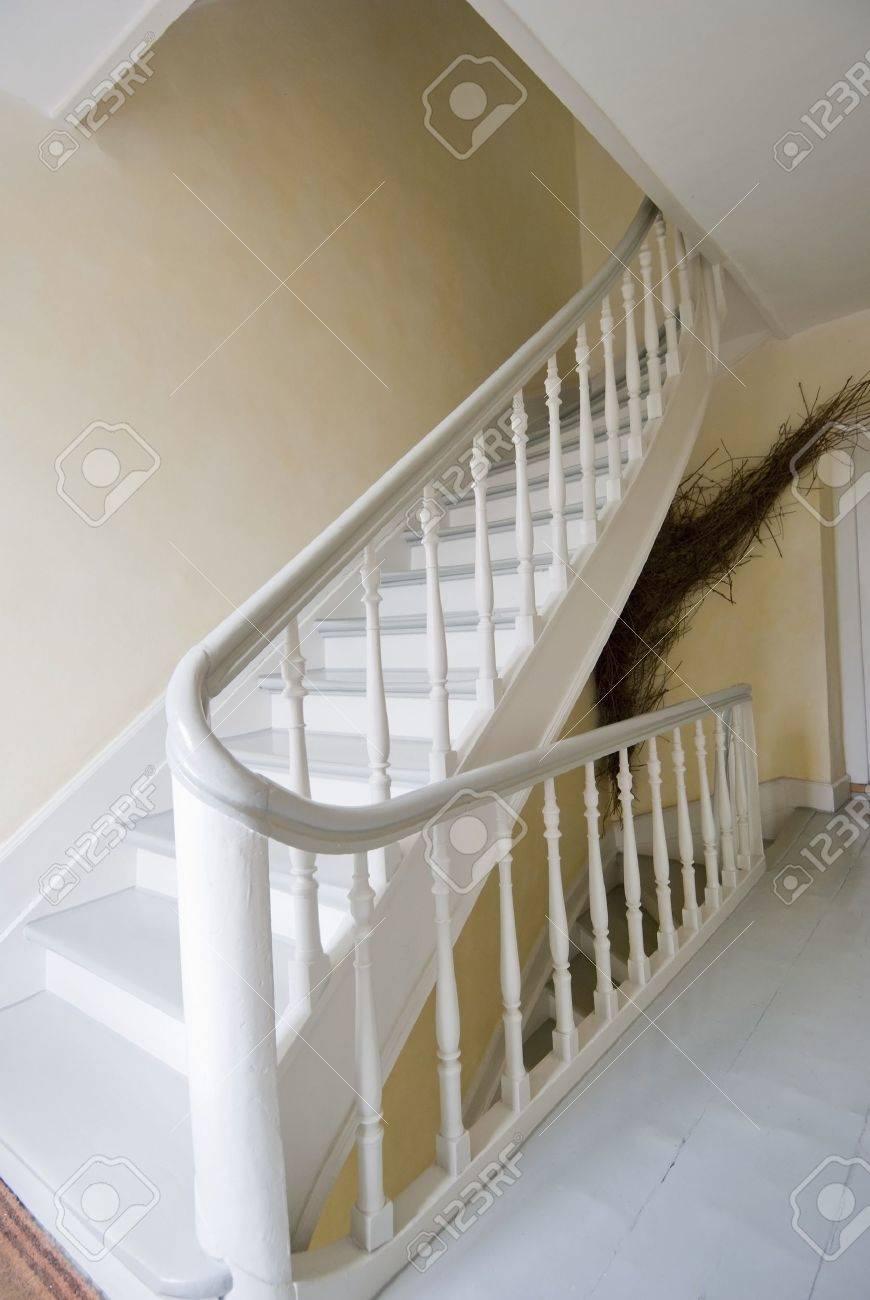 Pasamanos Escaleras Interiores Escaleras De Madera Aluminio  ~ Barandas De Escaleras Interiores
