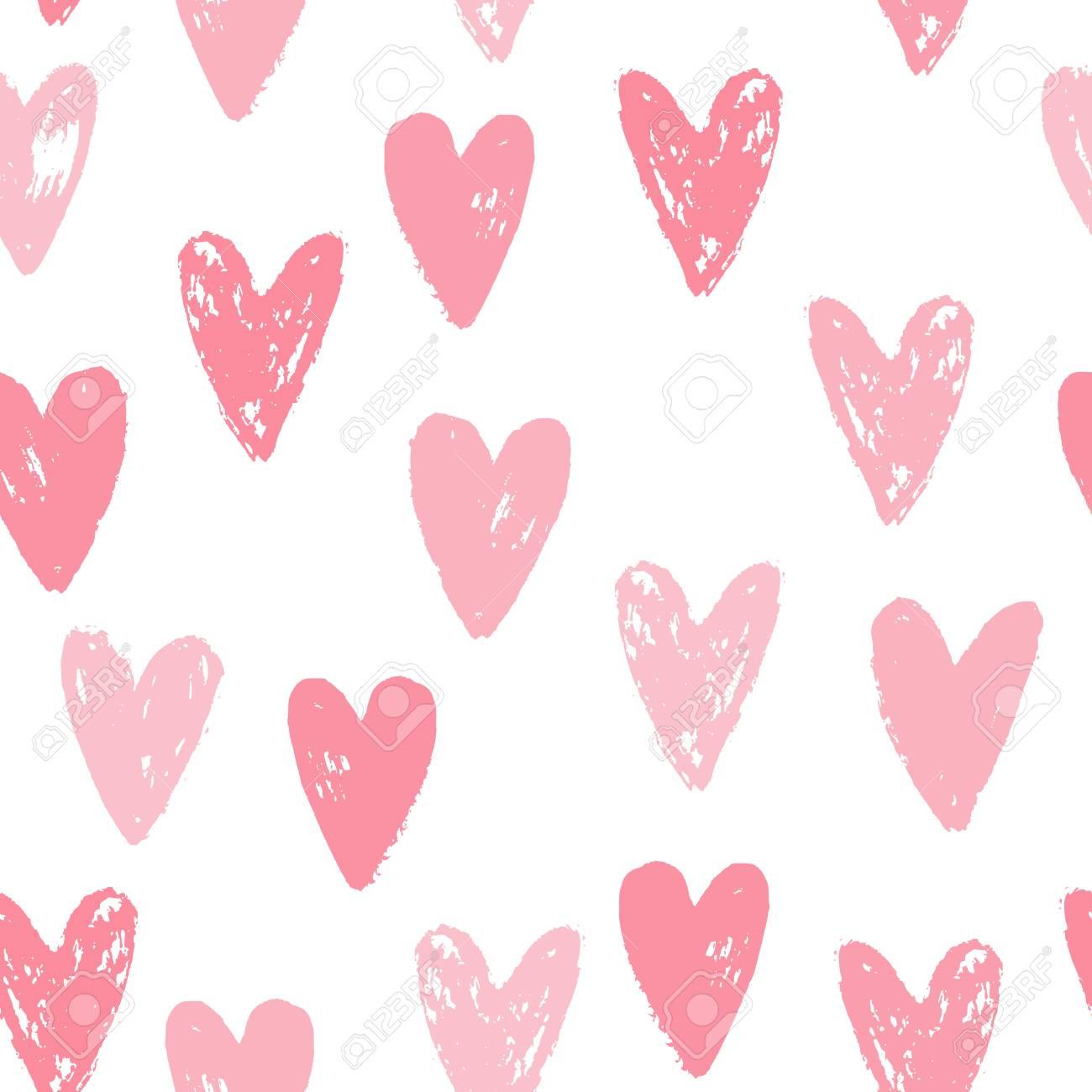cute pink hearts seamless pattern grunge texture vector rh 123rf com grunge texture vector png grunge texture vector tutorial
