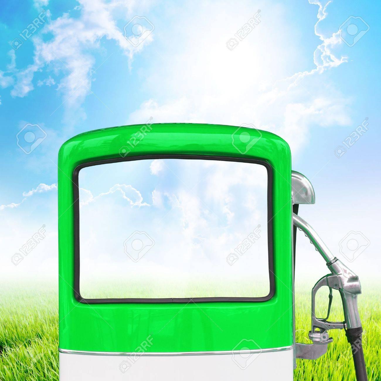 Gasoline fuel pump ecology concept Stock Photo - 14957260