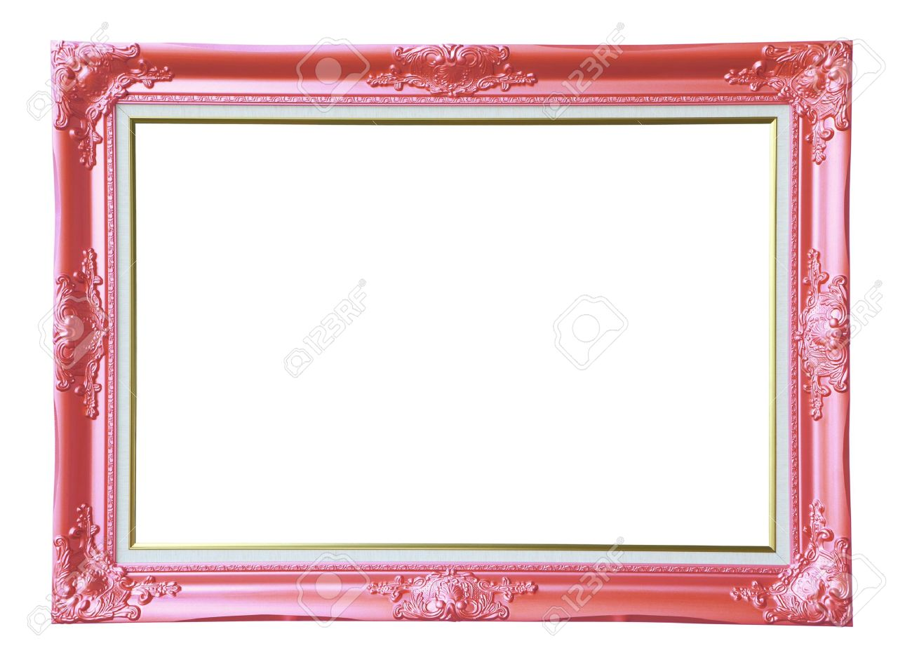 Copper-pink Vintage Photo Frame, Stock Photo, Picture And Royalty ...