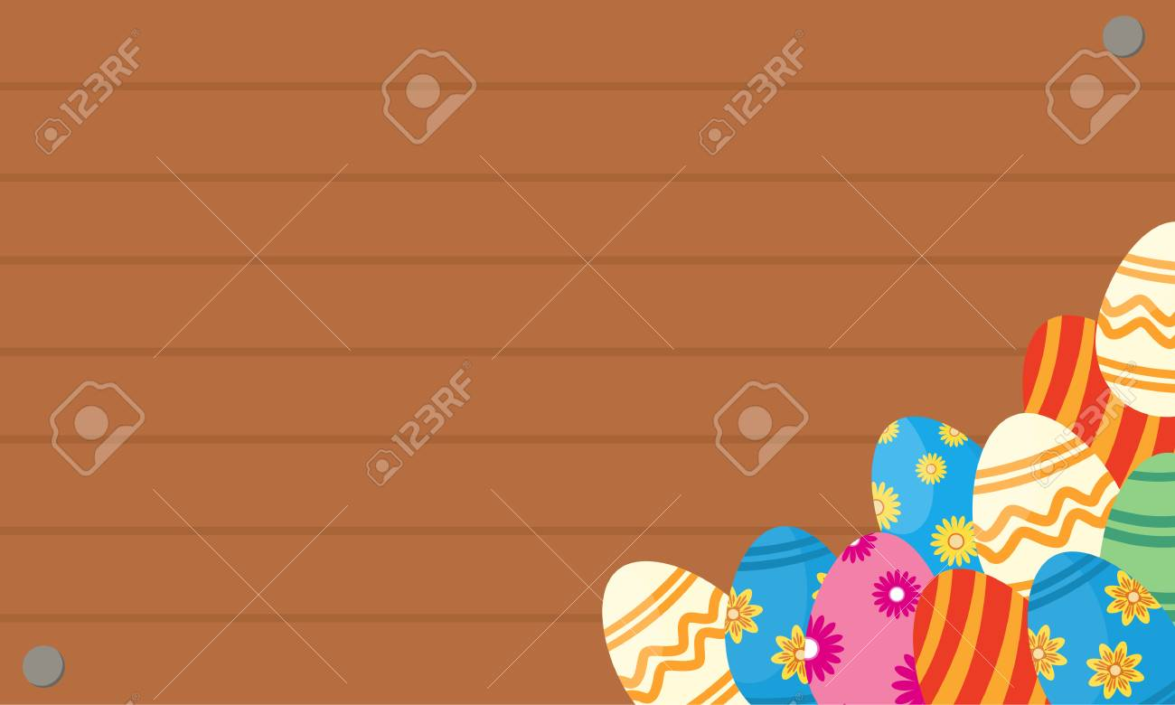 Greeting card of easter egg backgrounds royalty free cliparts greeting card of easter egg backgrounds stock vector 71765853 m4hsunfo