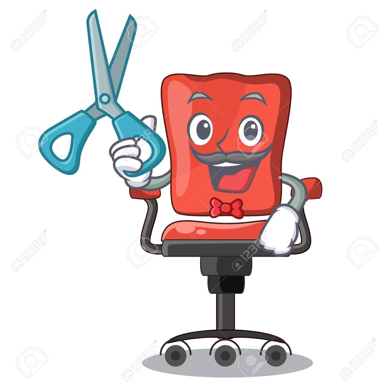 Brilliant Barber Character Office Desk Chair In Indoor Creativecarmelina Interior Chair Design Creativecarmelinacom