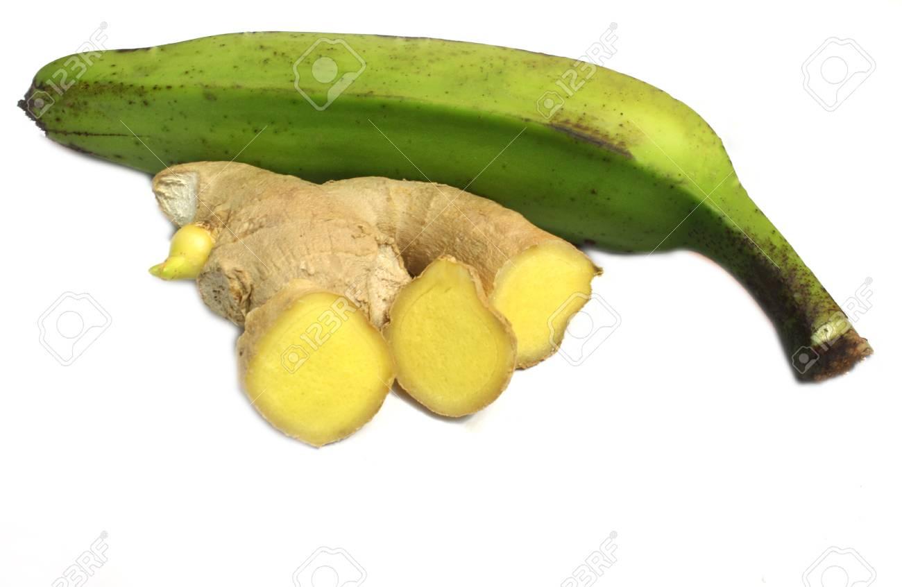 Banana   ginger Stock Photo - 20430515