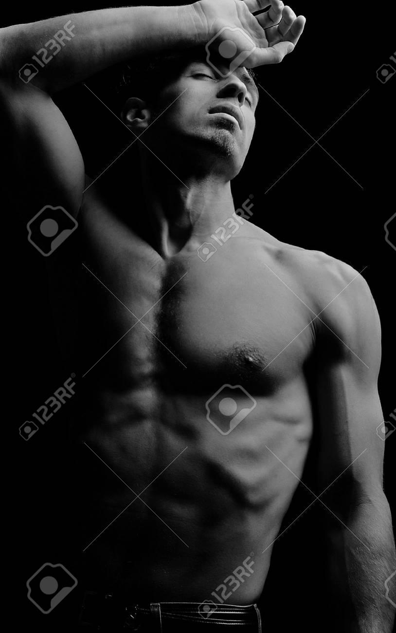 Male fashion shot, muscular guy Stock Photo - 7078745