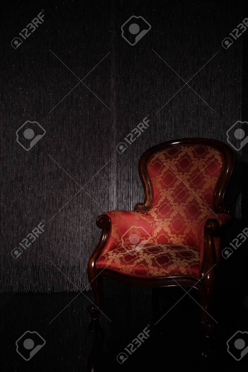 Real photo of classic armchair Stock Photo - 8531697