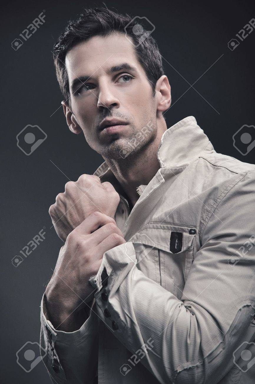 Portrait of an handsome man Stock Photo - 8764366