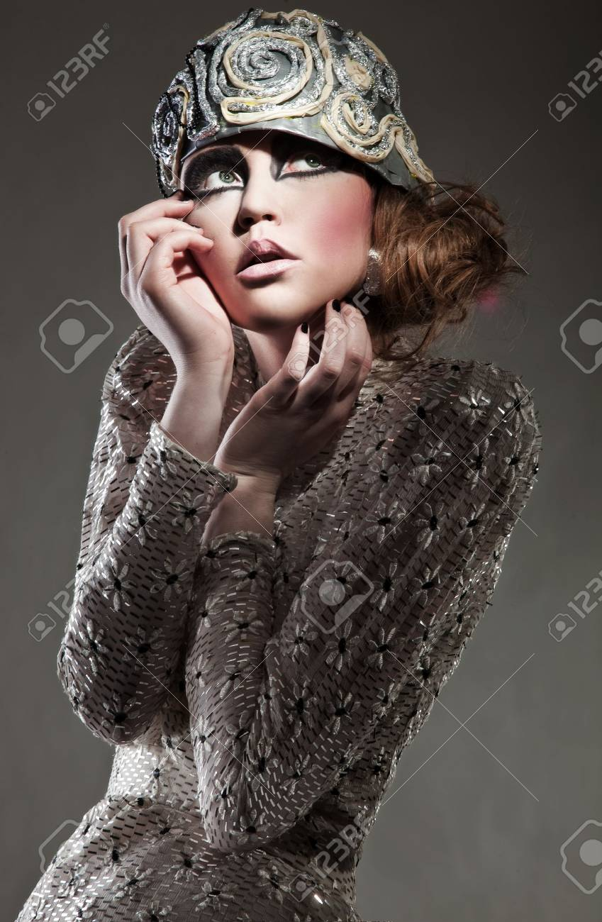 Portrait of a beautiful young woman Stock Photo - 8877860