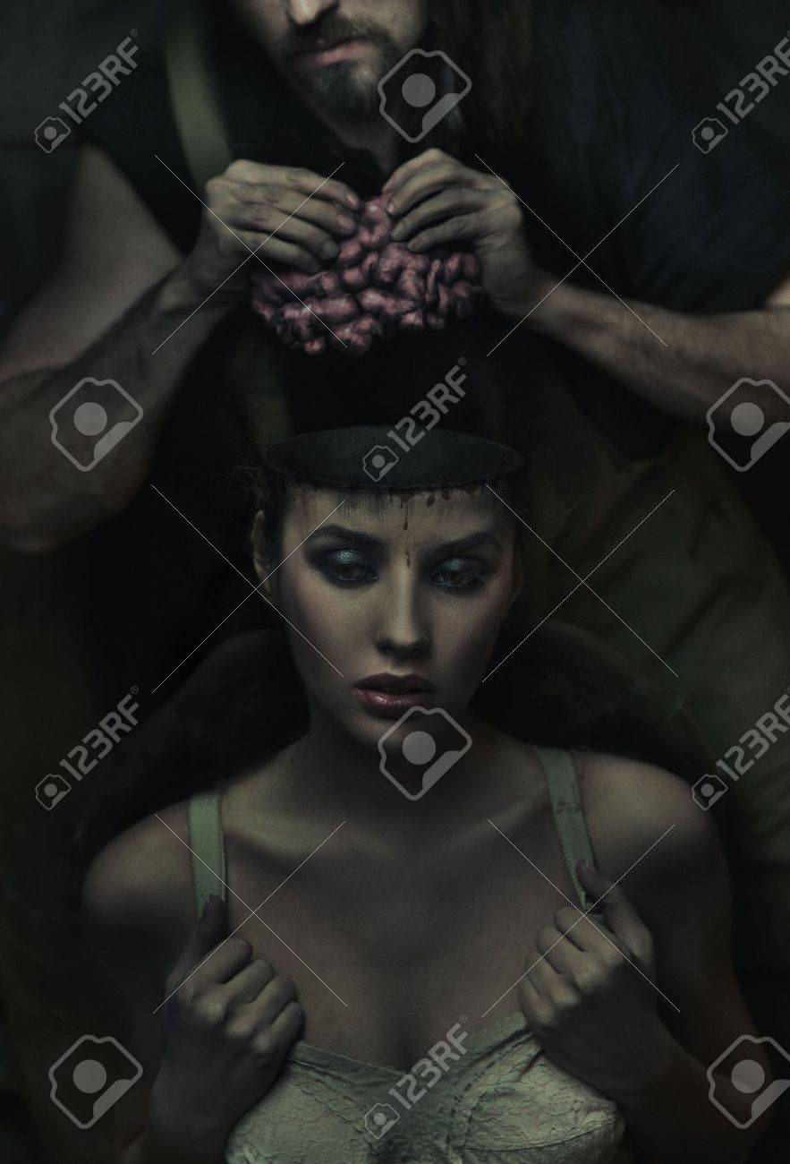 Fine art image from the series of work : Experimental beauty shop Stock Photo - 9512844