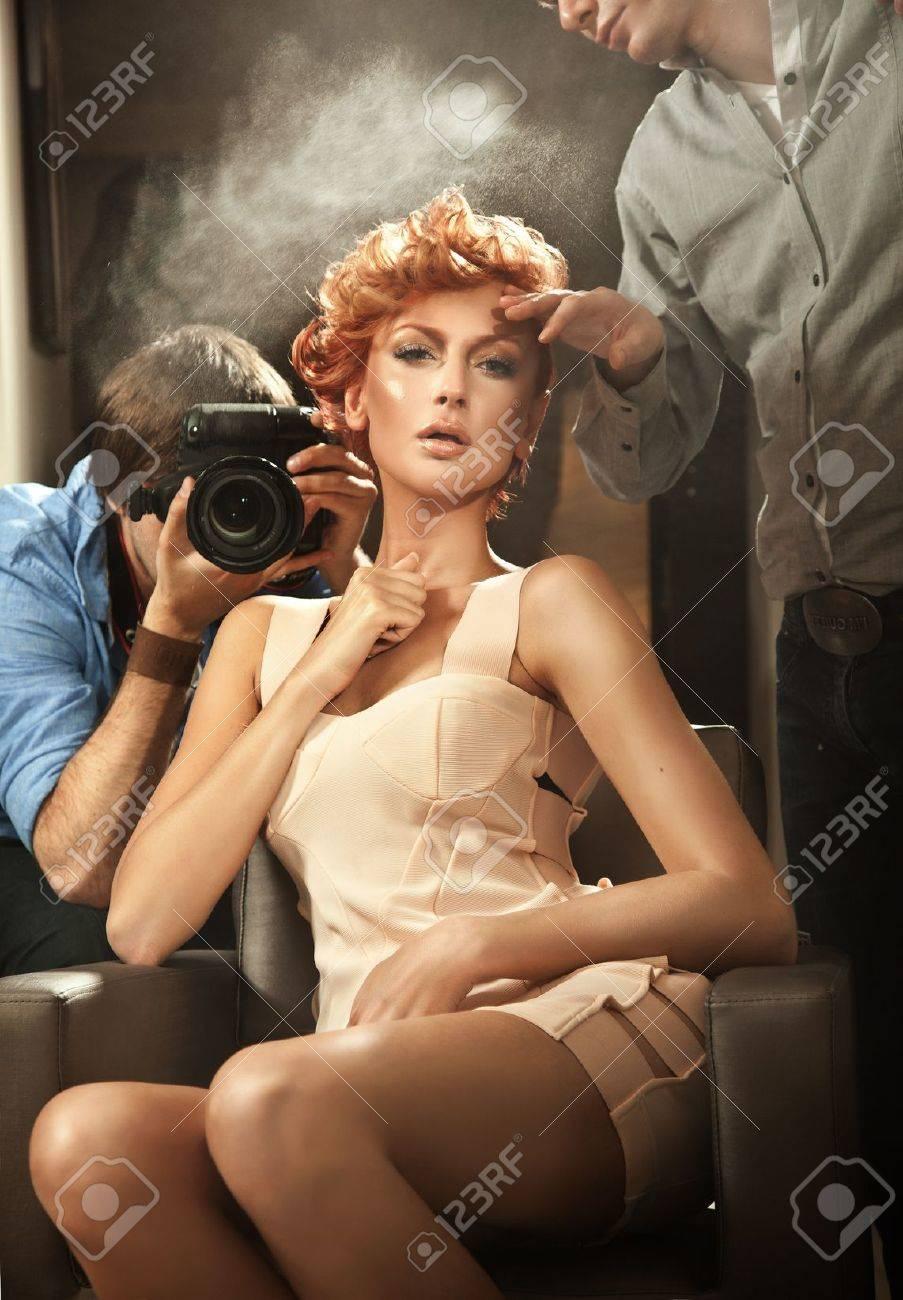 Ginger hair woman Stock Photo - 10827921
