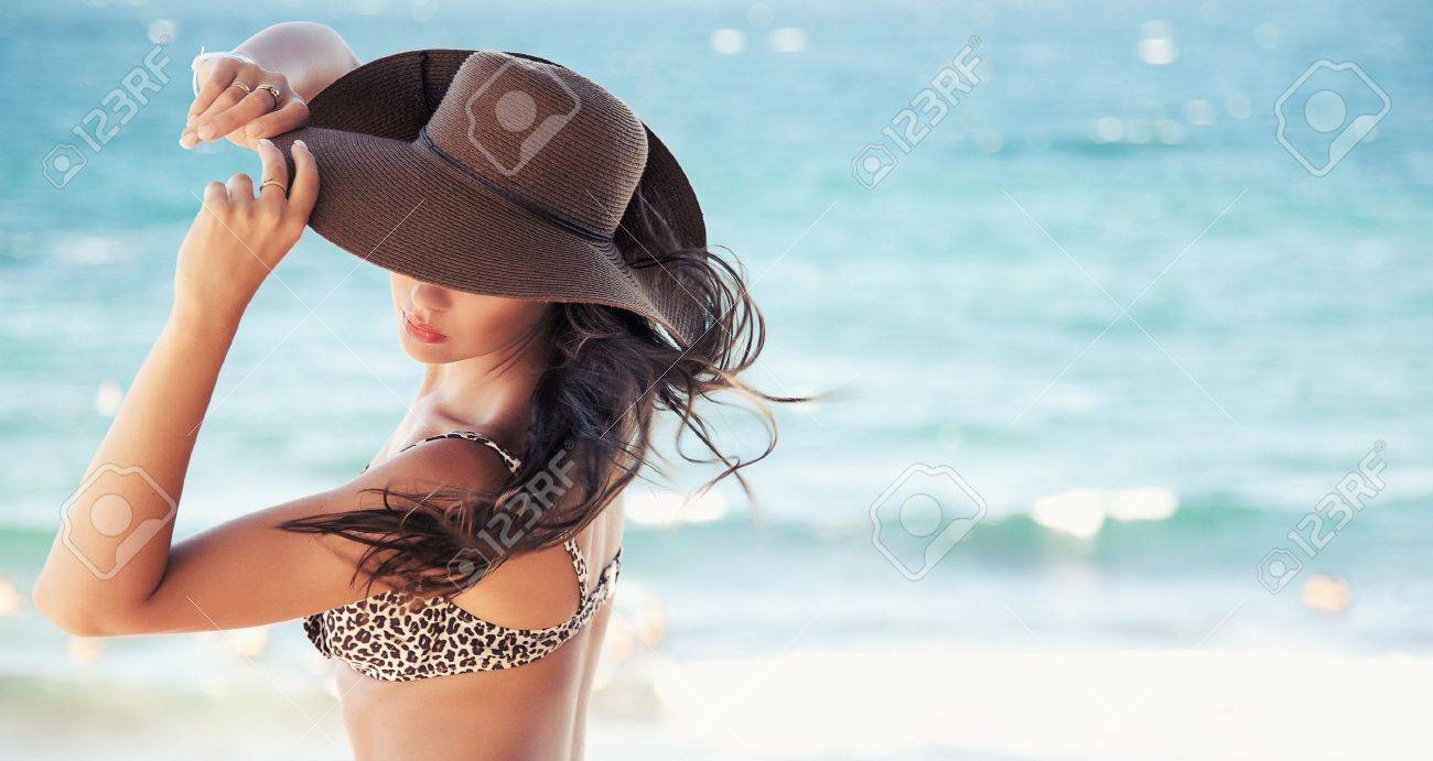 Cute woman in hat Stock Photo - 11085281
