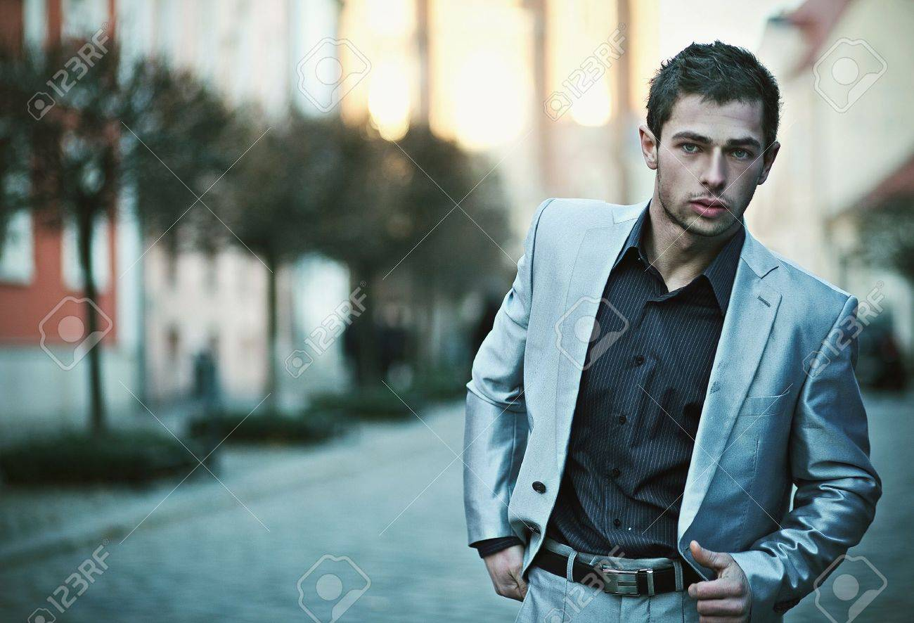 Handsome businessman Stock Photo - 12075643