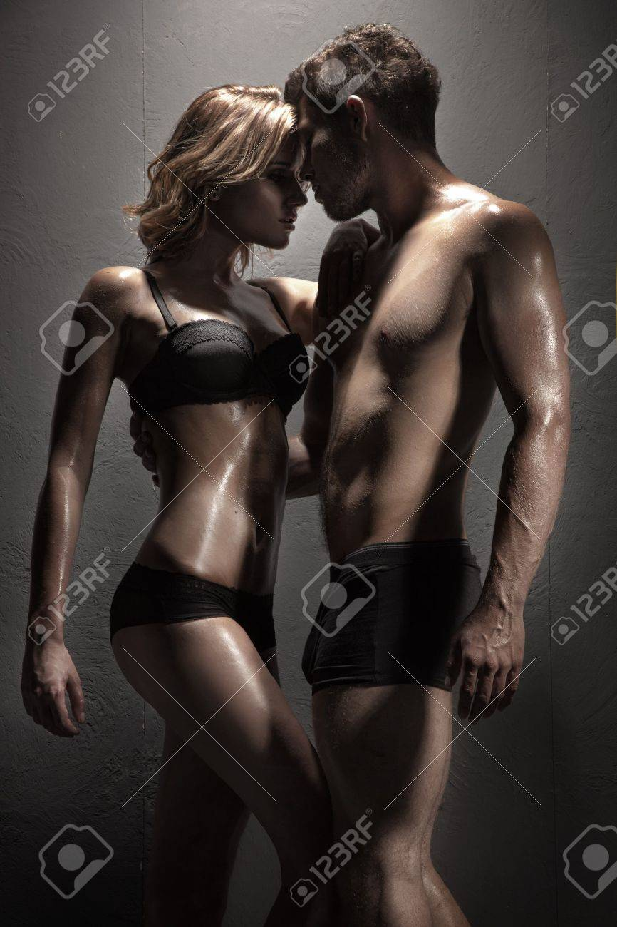 Sexy young passionate couple Stock Photo - 15865766