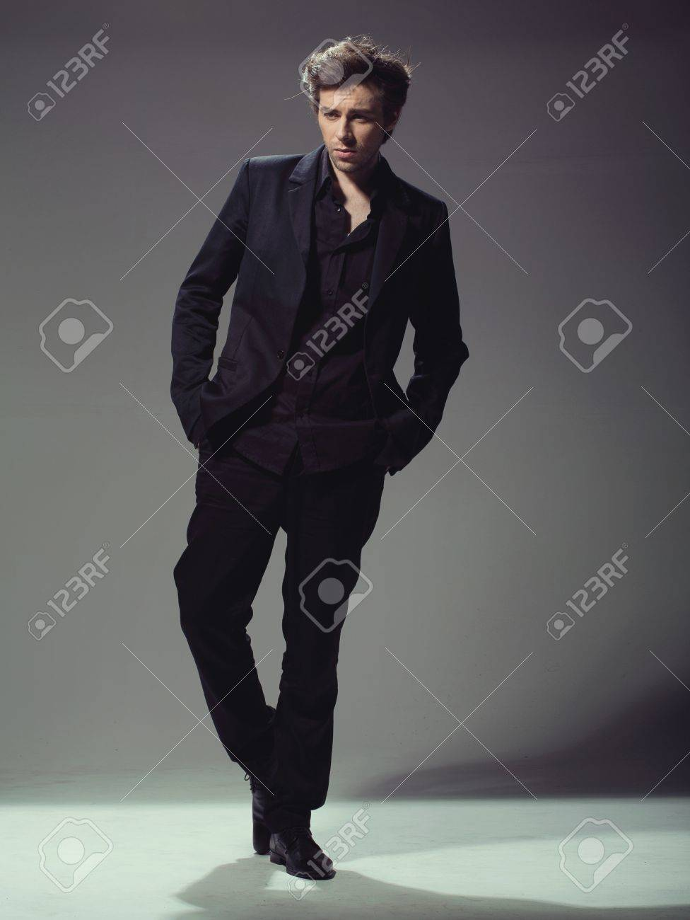 Portrait of successful good-looking businessman Stock Photo - 17626146
