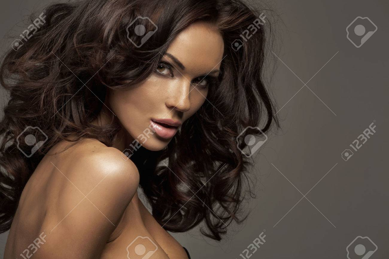 Portrait of the perfect female beauty Stock Photo - 24099644