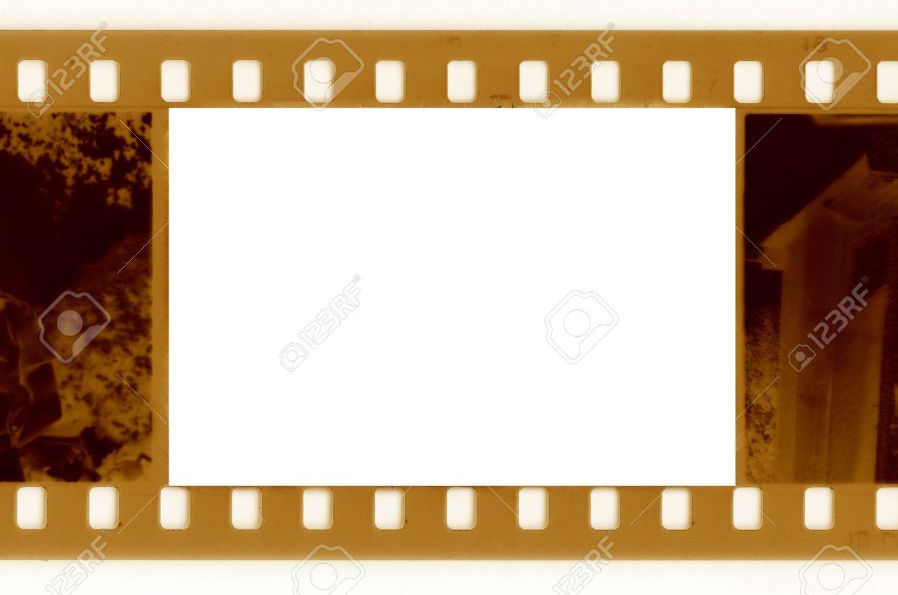 old 35mm frame film wirh vintage car Stock Photo - 15714074