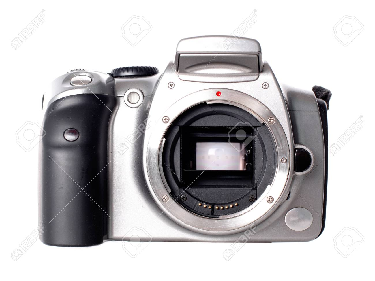Camera Dslr Camera Without Lens dslr camera without lens isolated on white stock photo picture 15727876