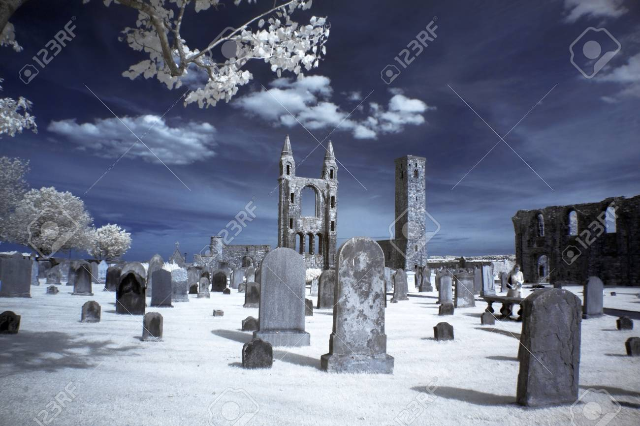 St Andrews cathedral grounds, GB Stock Photo - 15854642