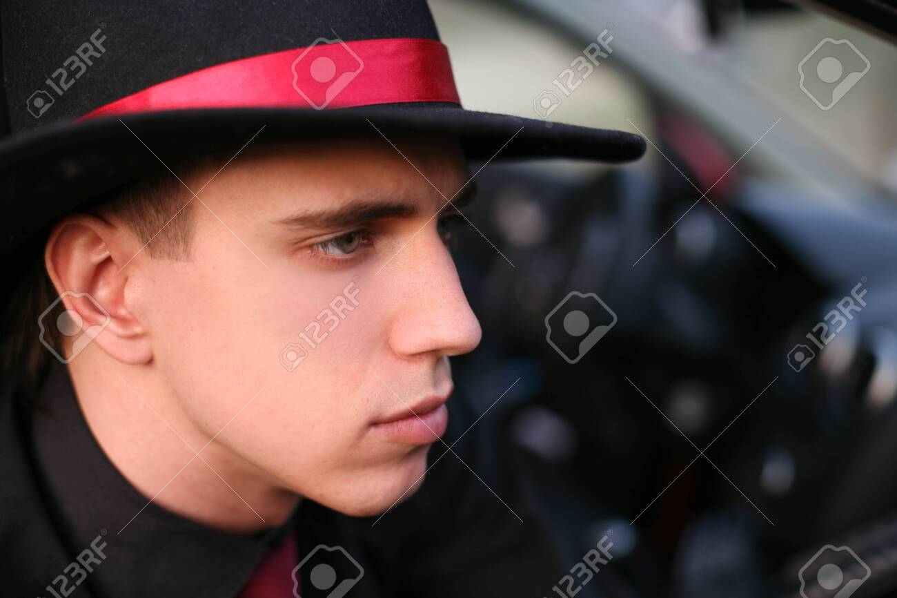 man in hat Stock Photo - 15930688