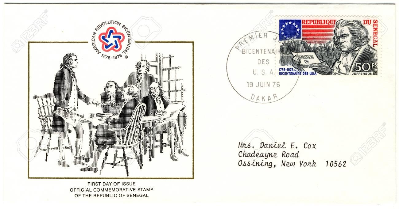 vintage envelopes of american revolution bicentennial Stock Photo - 15986691