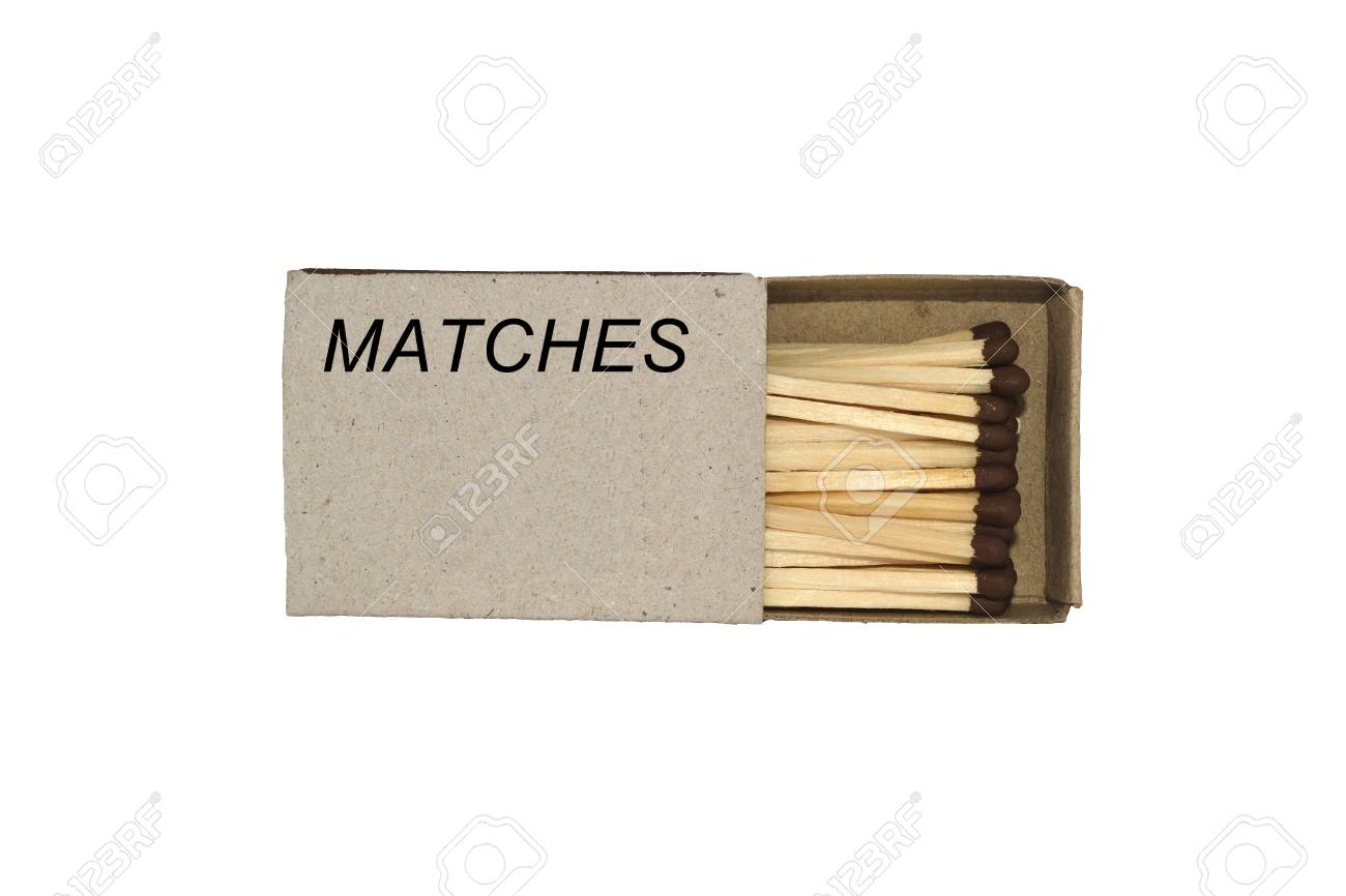 Match box isolated on a white background Stock Photo - 9777766