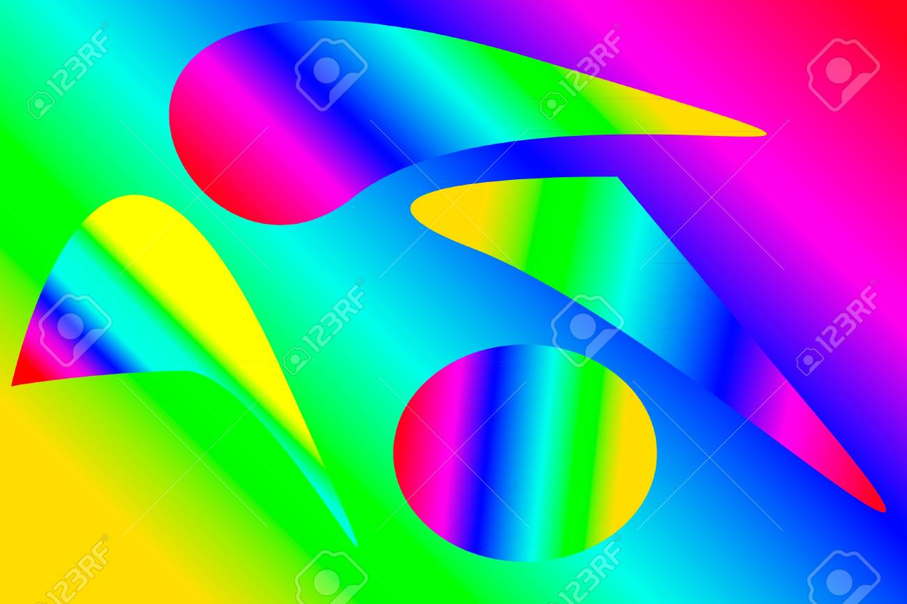 Colorful abstract background. Vector illustration. Stock Vector - 9777835