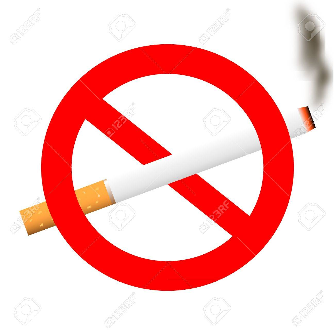 No Smoking sign - vector Stock Vector - 9777894