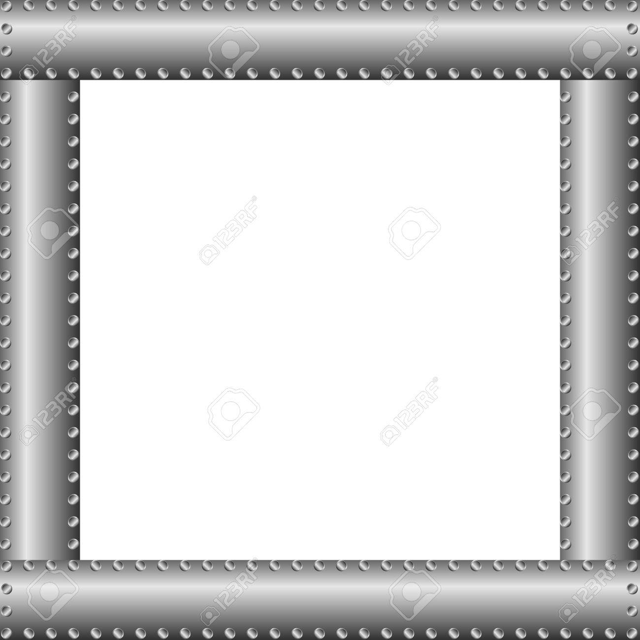 Metal background or texture with rivets Stock Vector - 11342007