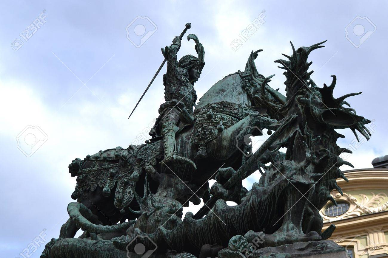 The statue of st george and the dragon is a symbol of stockholm the statue of st george and the dragon is a symbol of stockholm sweden biocorpaavc Image collections