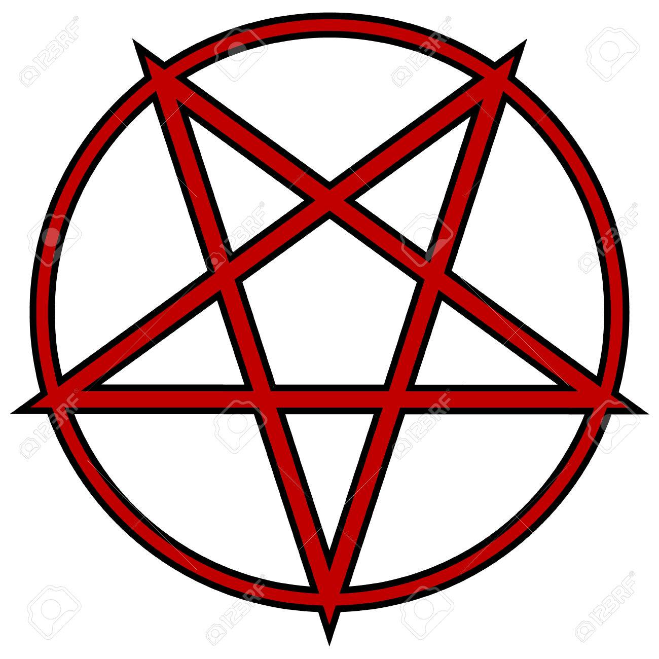 pentagram icon on white background vector illustration royalty rh 123rf com pentagram vector free download pentagram vector file