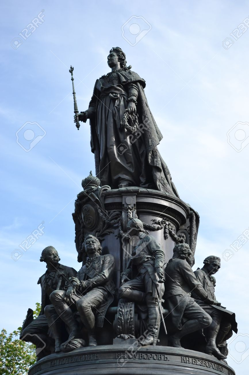 Monument to Catherine the Great in St. Petersburg: description, photo 97