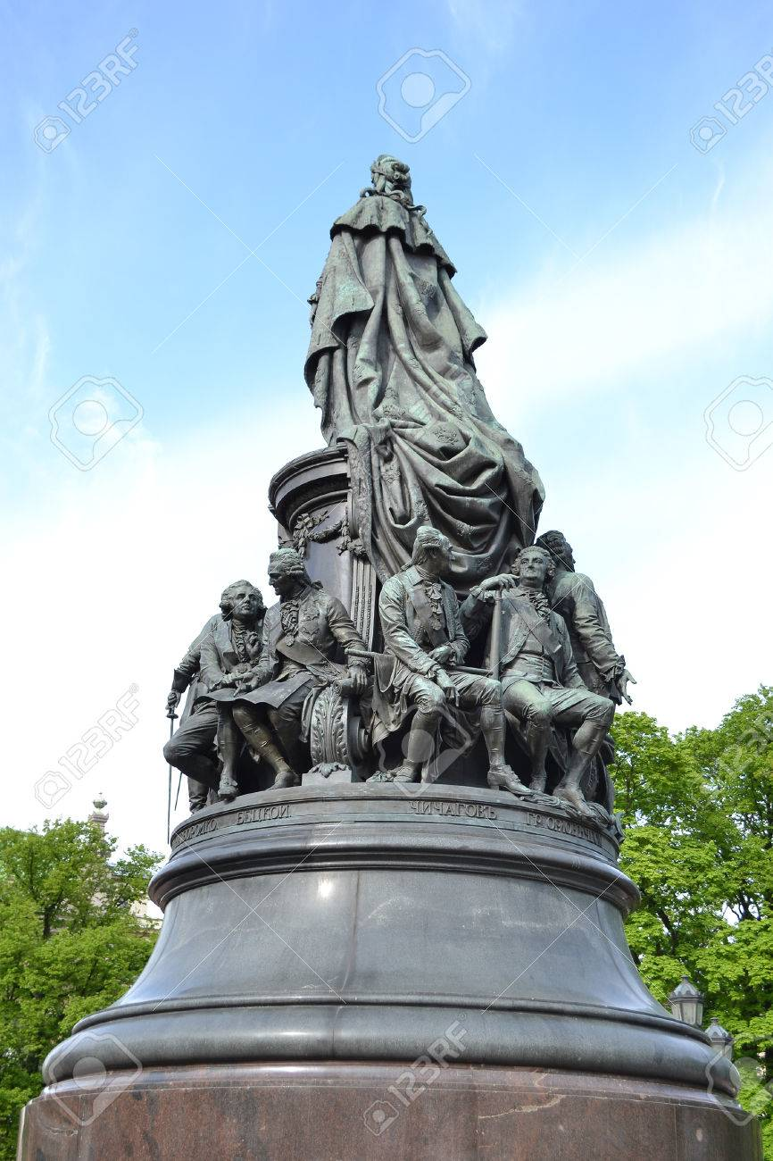 Monument to Catherine the Great in St. Petersburg: description, photo 29