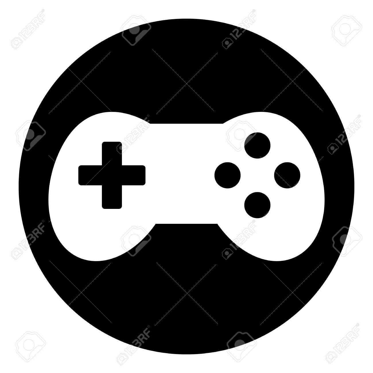 Video Game Icon Isolated On White Background Vector Illustration