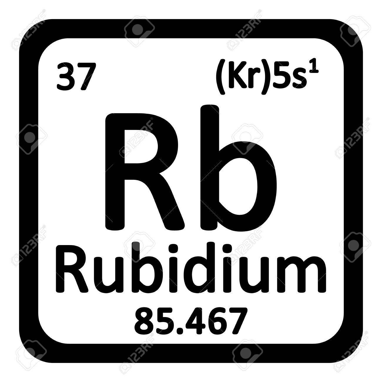 Periodic table element rybidium icon on white background vector periodic table element rybidium icon on white background vector illustration stock vector 63715008 urtaz Choice Image