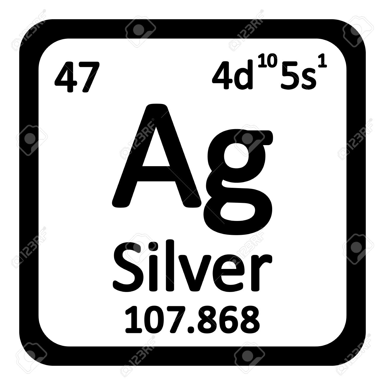 what is the element of silver