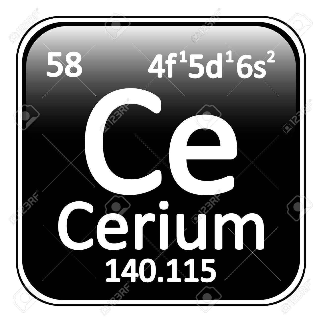 Periodic table element cerium icon on white background vector periodic table element cerium icon on white background vector illustration stock vector 64698341 urtaz Image collections