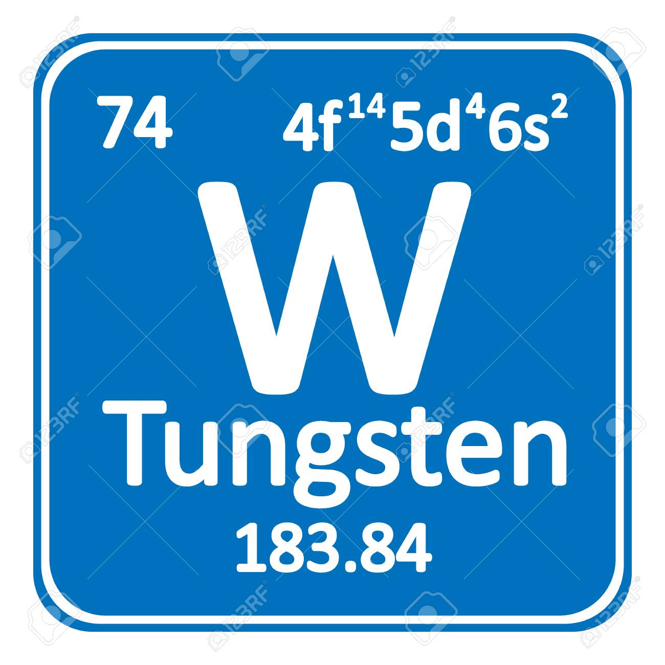 Periodic table element tungsten icon on white background vector periodic table element tungsten icon on white background vector illustration stock vector 98754571 urtaz Image collections