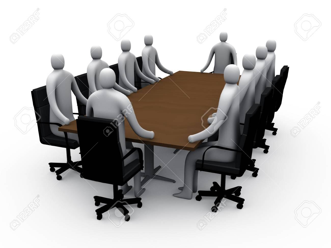 Meeting room #1 Stock Photo - 222138