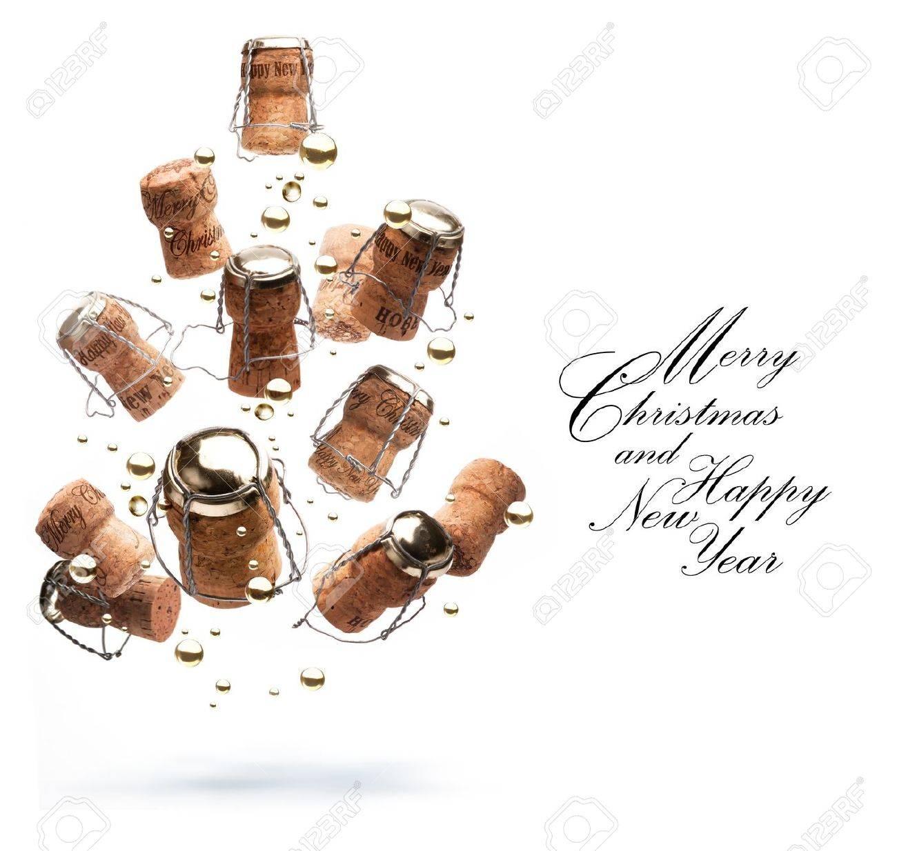 Art Christmas greeting card Stock Photo - 10460769