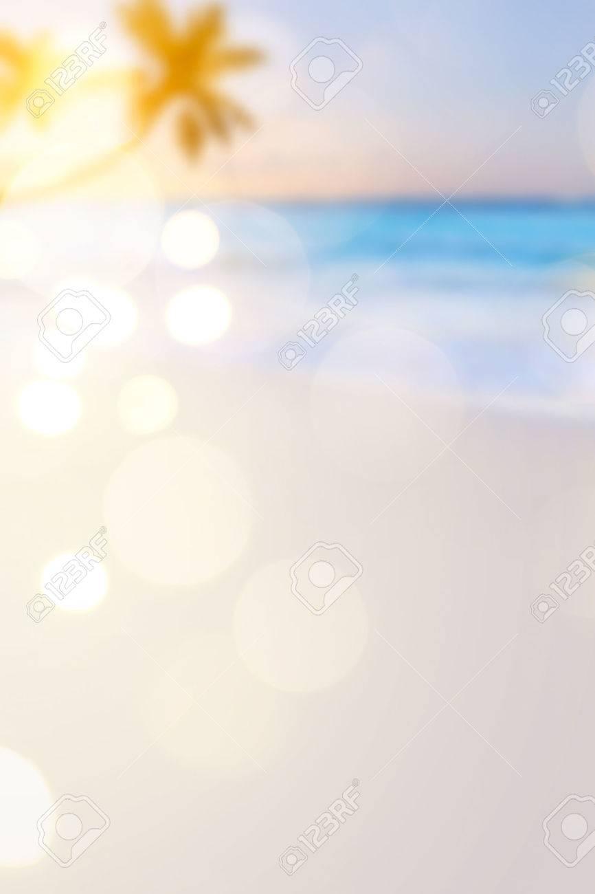 Summer travel  beach background Stock Photo - 39690423