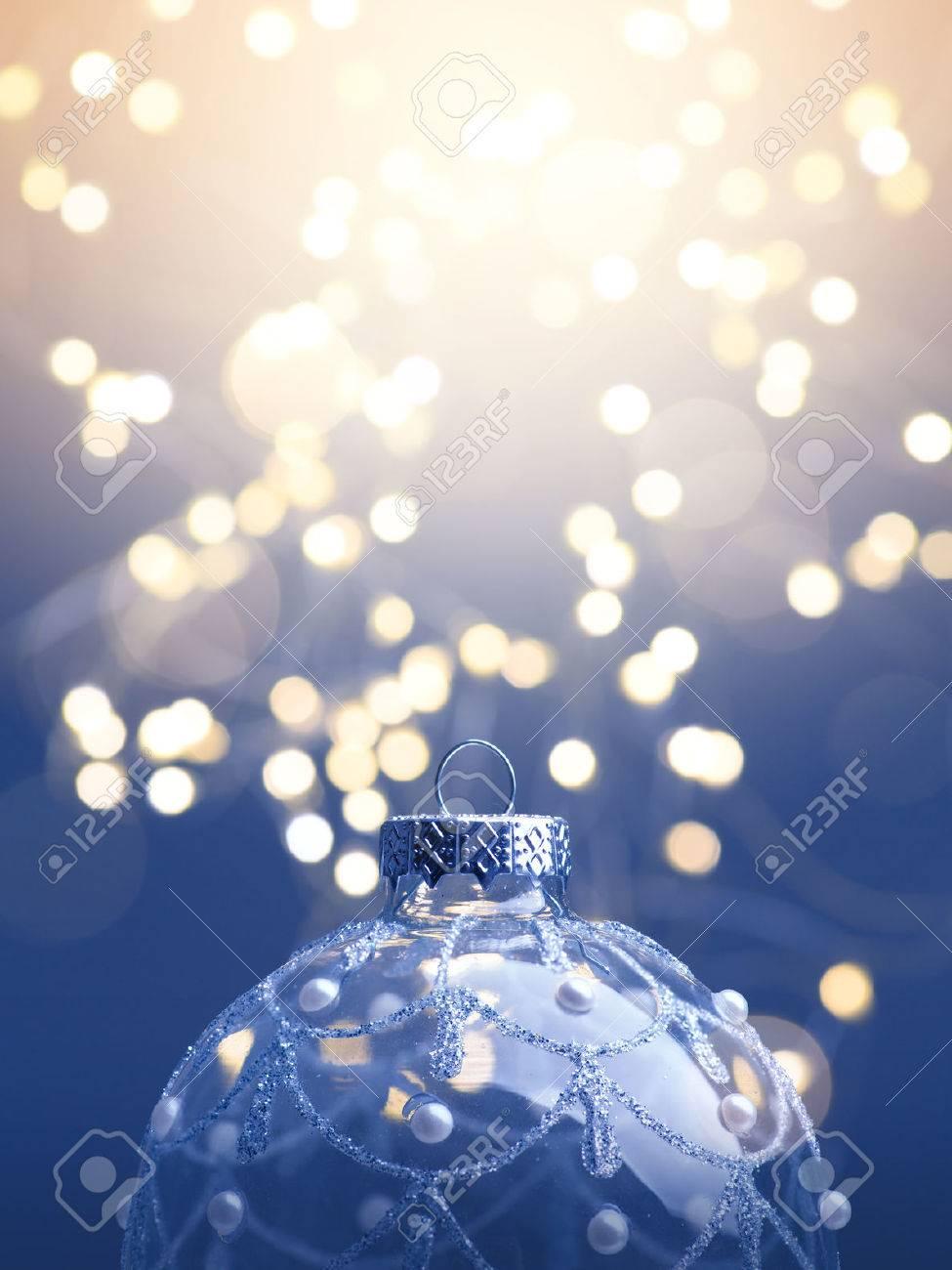 art  Christmas background; christmas tree light Stock Photo - 47841845