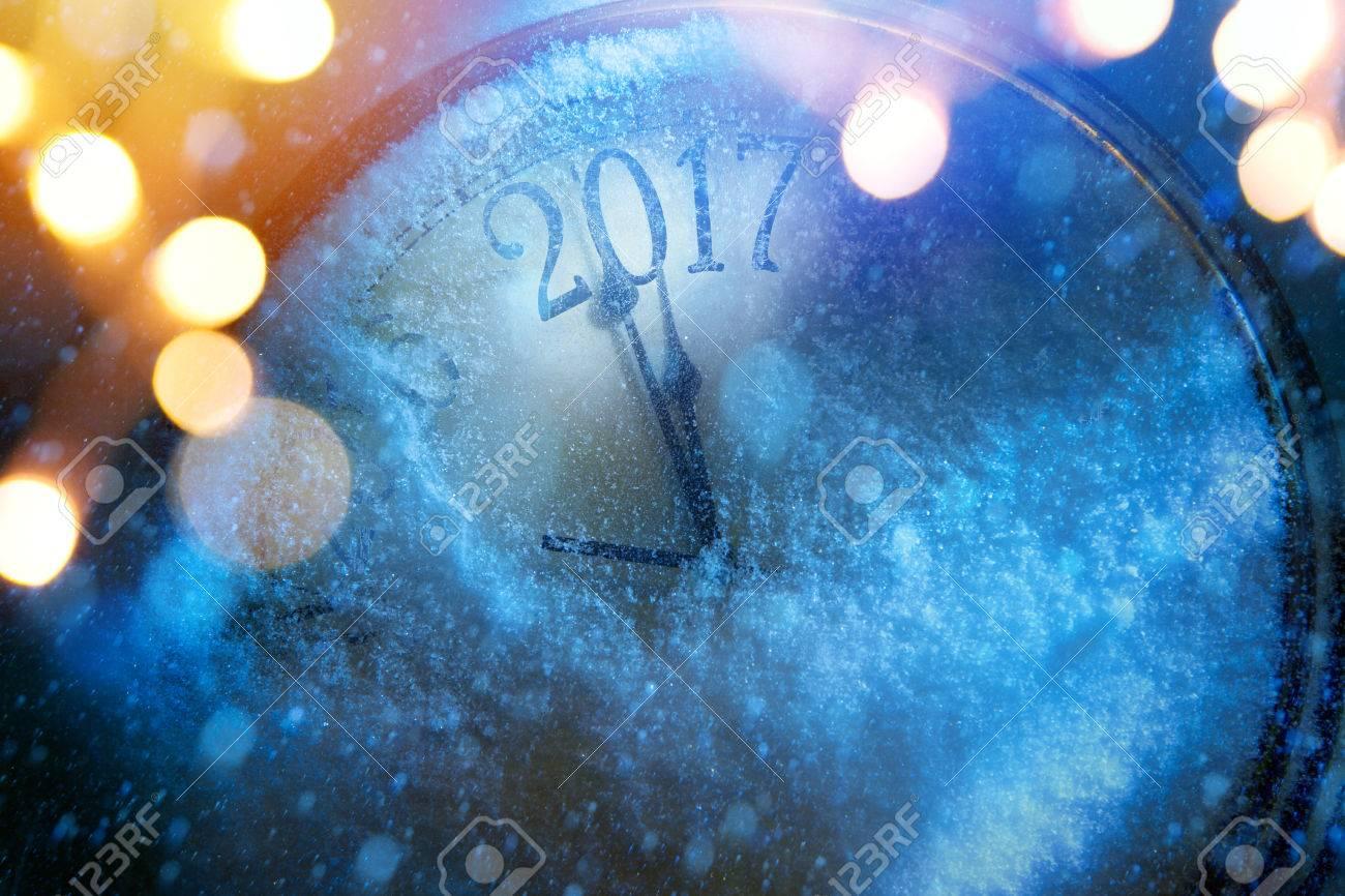art 2017 happy new years eve background Stock Photo - 63236424