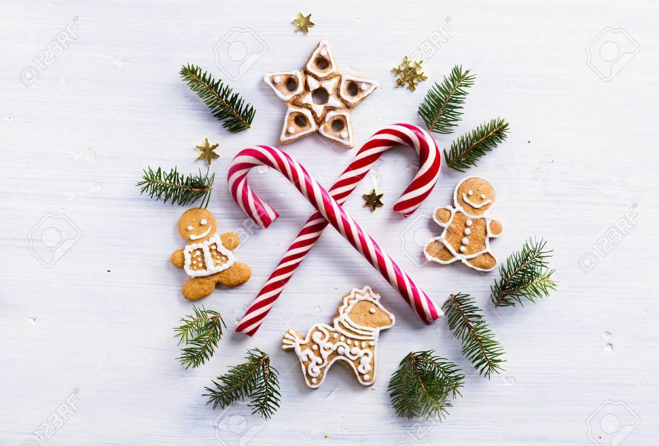 Weihnachtsgeschenk Zusammensetzung. Weihnachten Urlaub Süßigkeiten ...